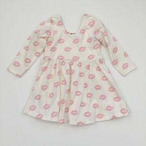 monica + andy Dresses - Lip Print Dress